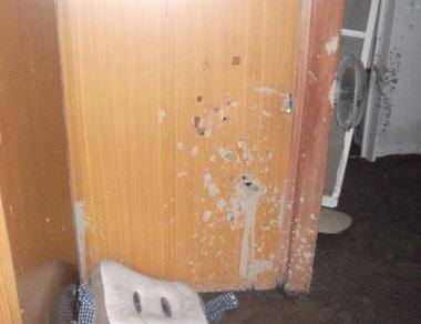 一階寝室引き戸
