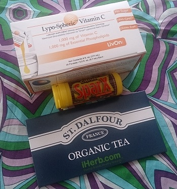 iHerb2014年6月のお買い物・サプリと紅茶