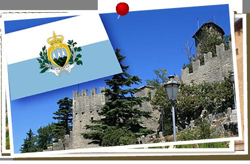 山頂の独立国サンマリノ