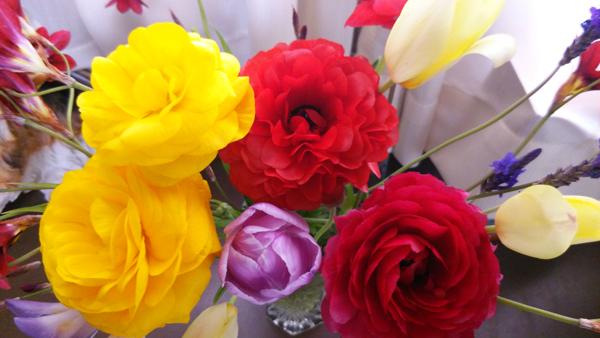自前の花束1405