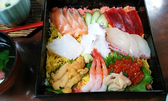 海鮮ちらし寿司1406