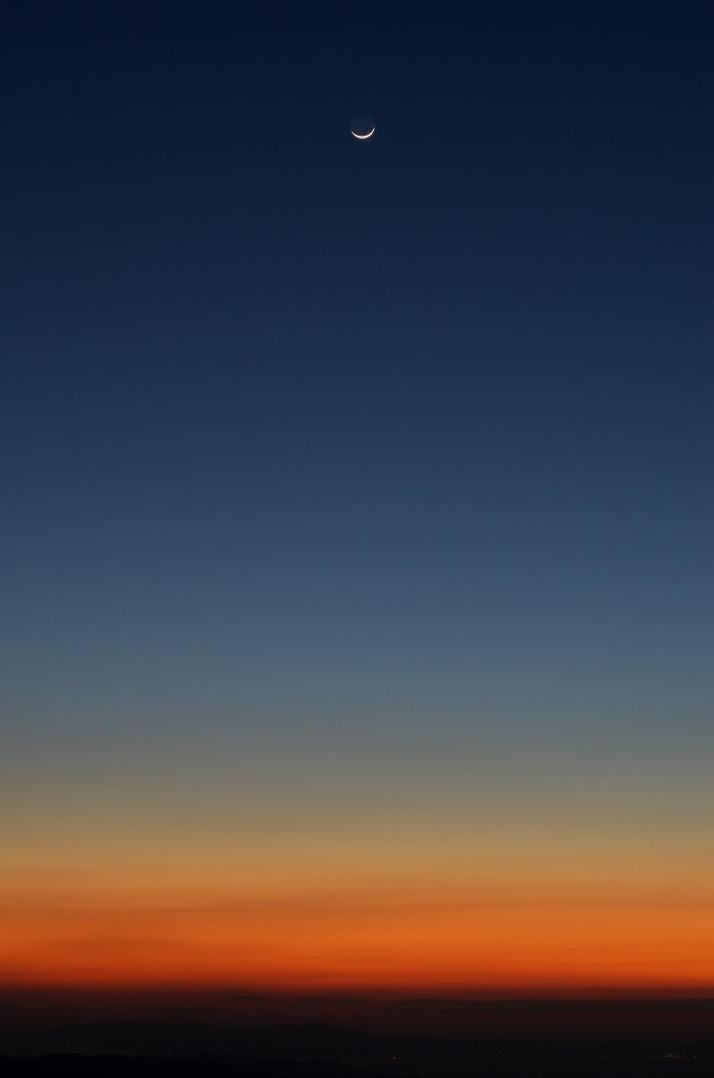 和泉葛城山展望台の夕景・夜景