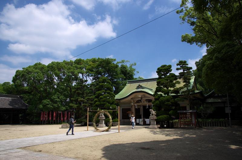 大江神社 茅の輪くぐり
