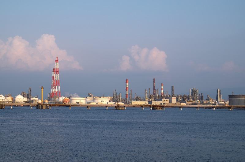 堺泉北臨海工業地帯 築港浜寺西町