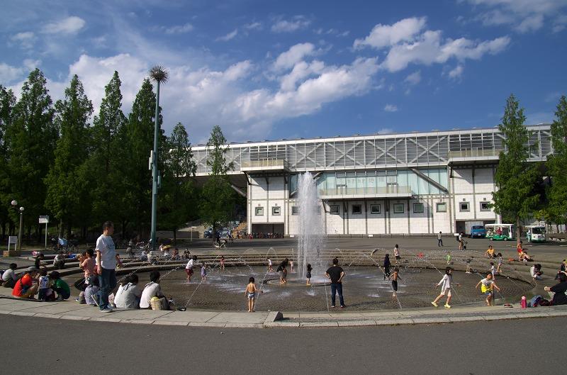 鶴見緑地公園 噴水