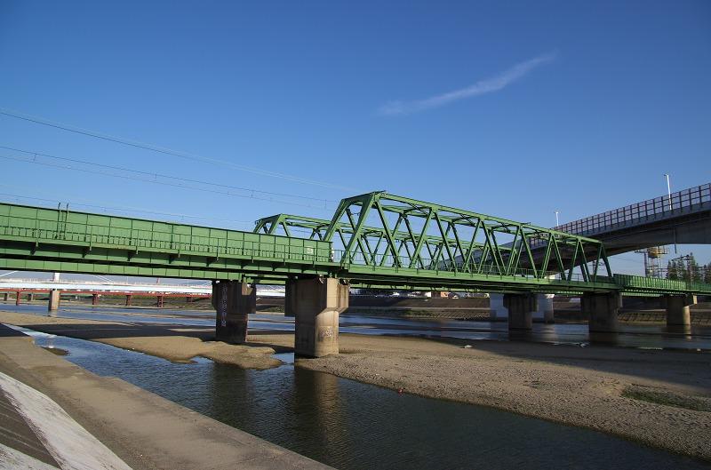 大和川 南海本線 鉄橋