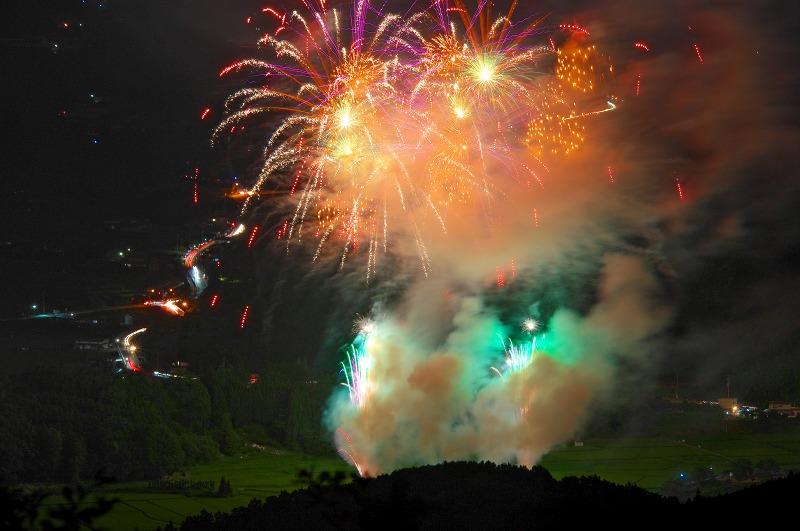 宇陀市はいばら花火大会2014