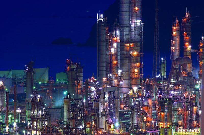 東燃ゼネラル和歌山工場 夜景