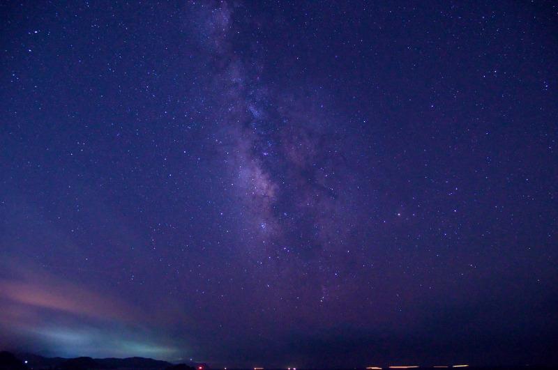 和歌山 白崎海岸 星空 天の川