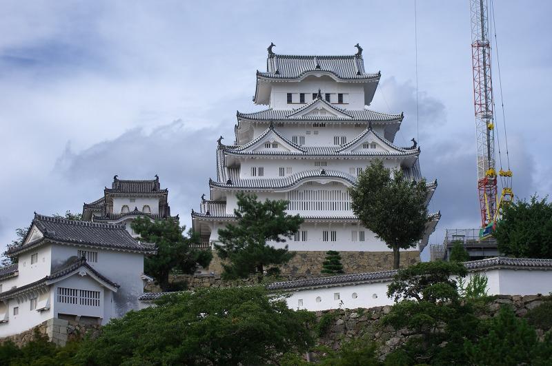 姫路城 白鷺城 改修工事
