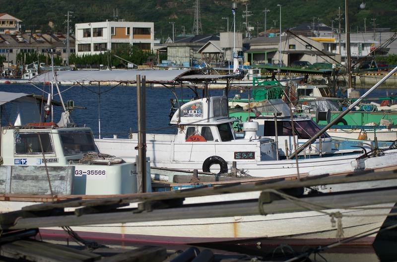 富島漁港 漁船