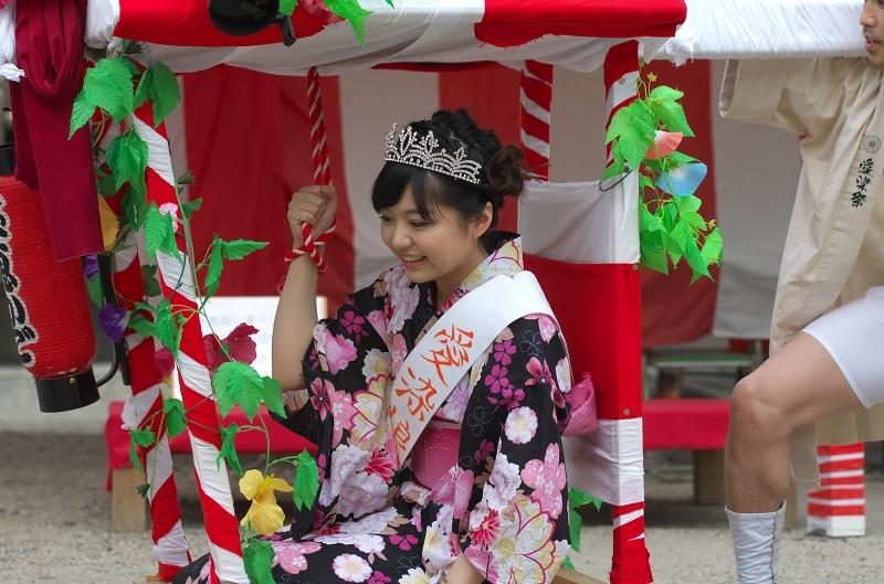 愛染祭 愛染娘 ほえかご(宝恵かご) 2014年