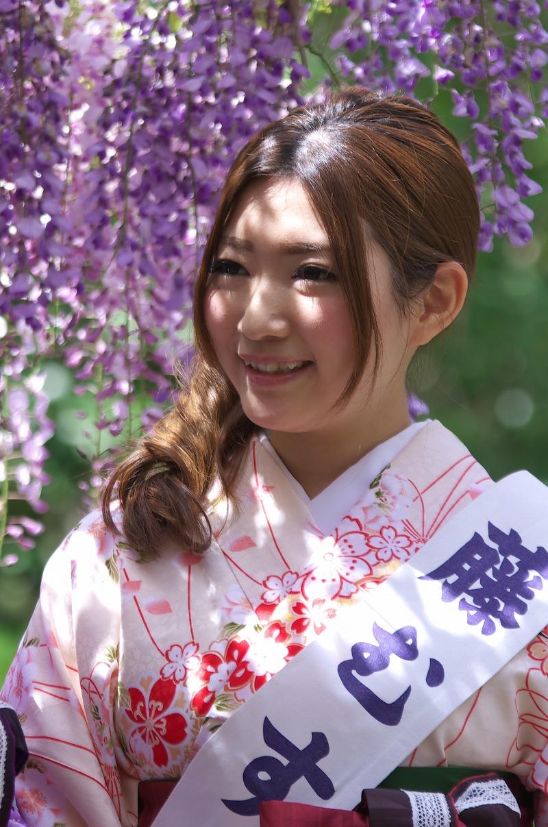 子安地蔵寺 藤むすめ写真撮影会 2014