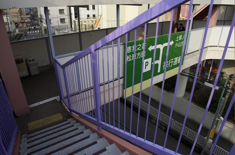 イオンモール藤井寺 ジャスコ 駐車場階段