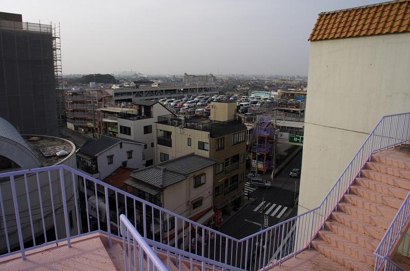 イオンモール藤井寺 ジャスコ 屋上