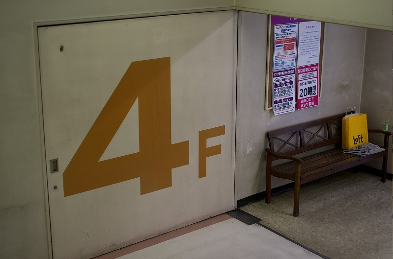 イオンモール藤井寺 ジャスコ 階段室4F
