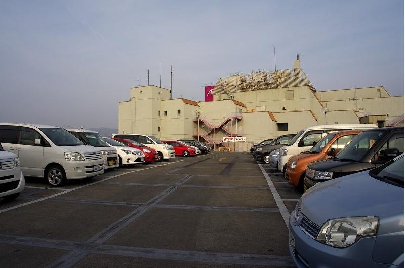 イオンモール藤井寺 ジャスコ 立体駐車場