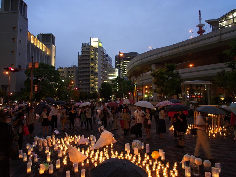 1000000人のキャンドルナイト@OSAKA CITY(2014 Summer 西梅田ナイト )