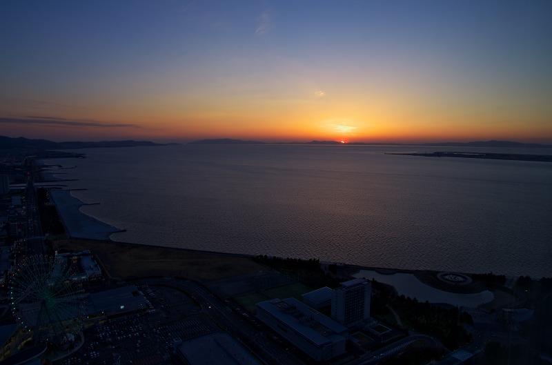 りんくうゲートタワービルからの夕景・夜景