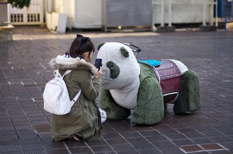 阪神百貨店遊園 パンダカー
