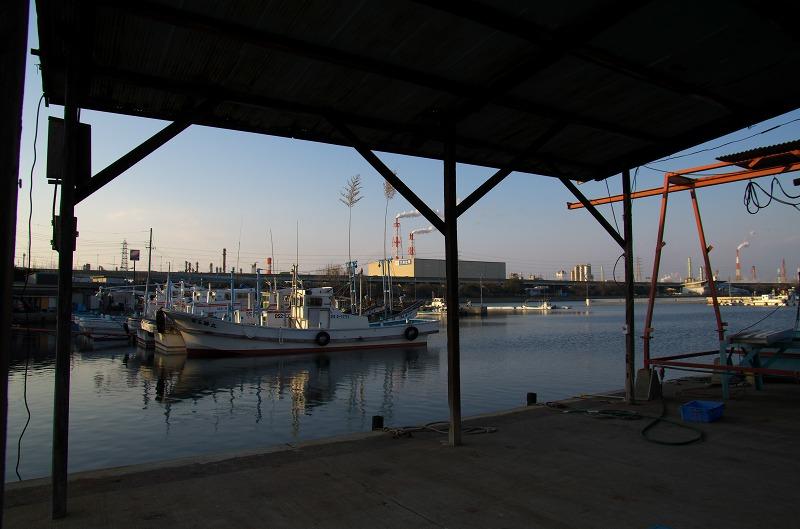高石市 高石漁港 浜寺水路
