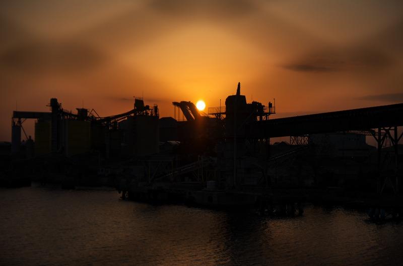 高石大橋 堺泉北臨海工業地帯 夜景 夕景