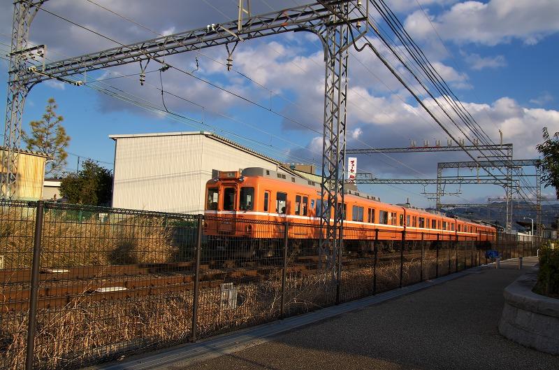 石川河川公園 駒ヶ谷地区 近鉄電車