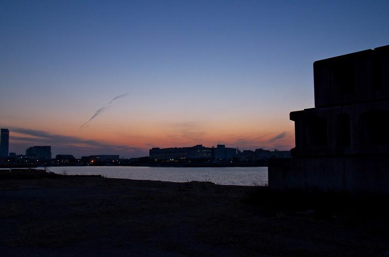 佐野漁港 夕景 夕焼け