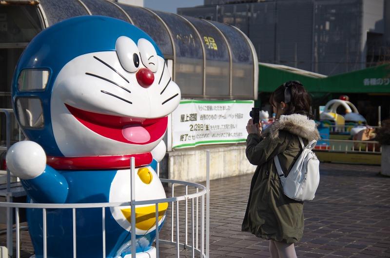阪神百貨店遊園 ドラえもん