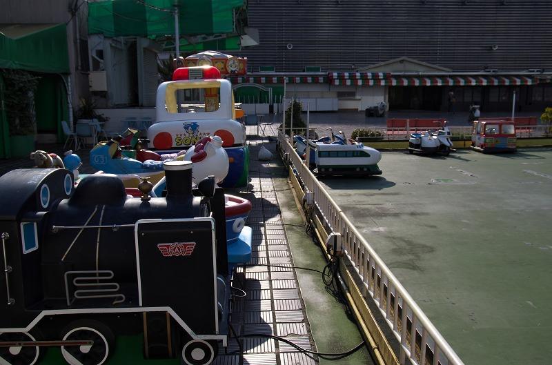 阪神百貨店遊園 乗り物広場