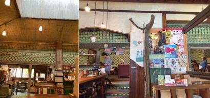 銭湯カフェ さらさ西陣 店内