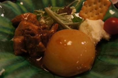 ランチ 豚の角煮