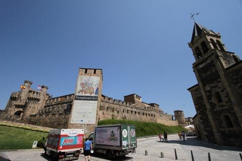 2327 Castillo de los Templarios y Iglesia de San Andres