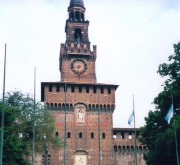 010 ミラノ・スフォルツェスコ城
