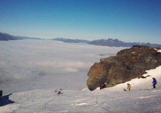 コロネットピーク・スキー場の様子 2