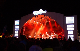 クイーンズタウン ウィンター・フェスティバル2014 ステージ
