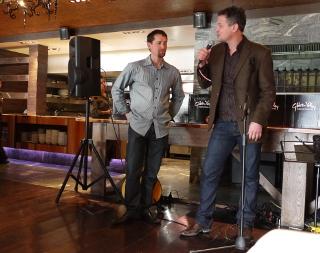 ギブストン・バレー・ワインズ ワインメーカーのクリスとマット