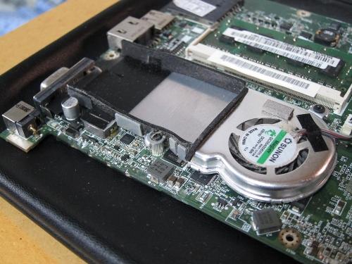 AOA150 CPU・チップヒートシンク