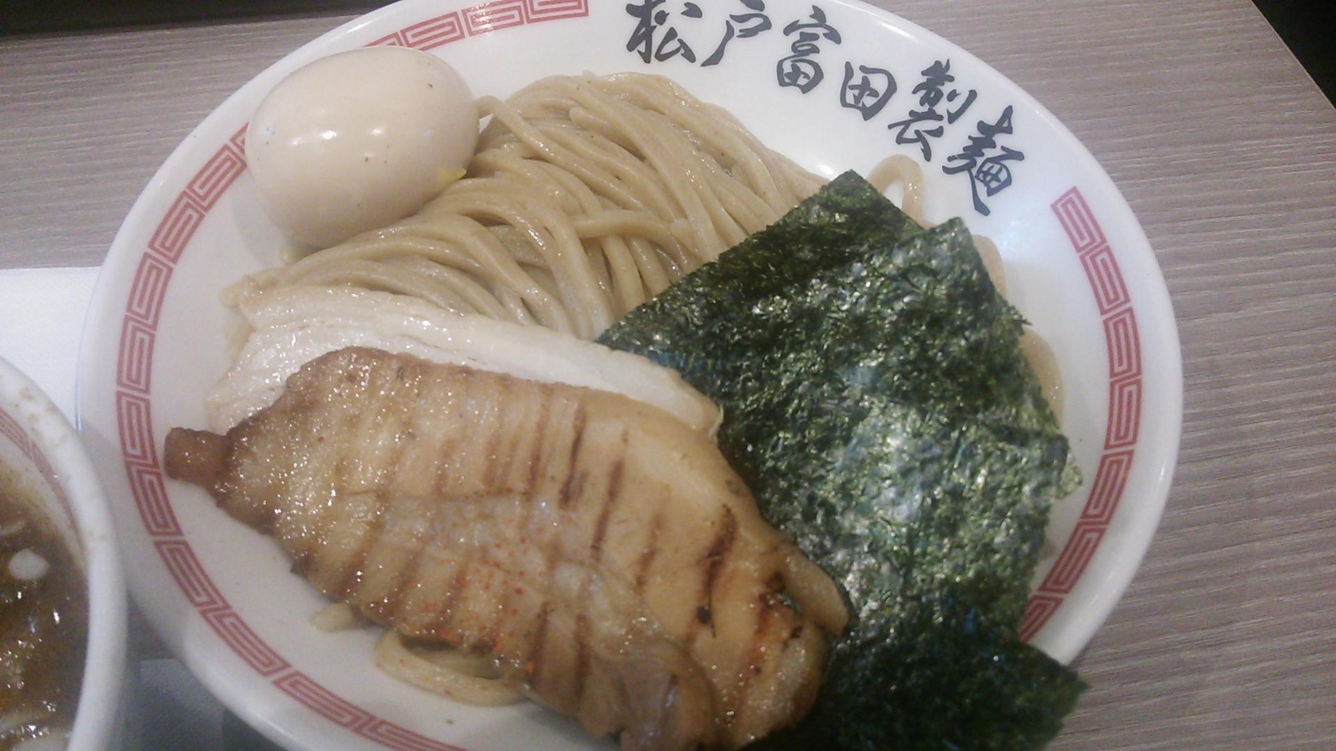 松戸富田製麺具と麺