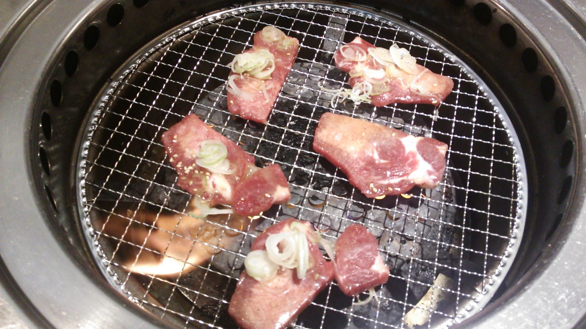 焼肉和ネギタン塩