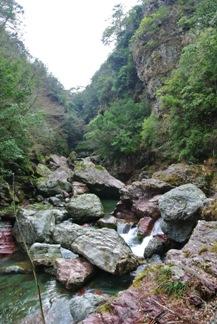 中津渓谷9