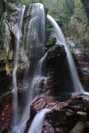 中津渓谷14雨龍の滝