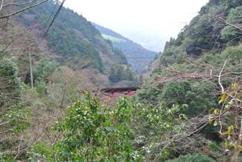 中津渓谷23つり橋