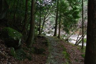 滑床渓谷6