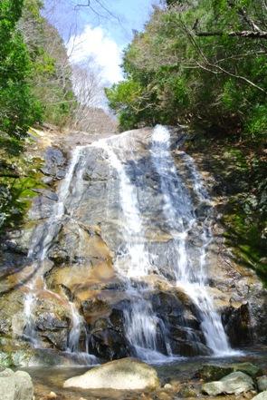 滑床渓谷22大階子の滝