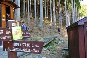 百尋12登山道入り口