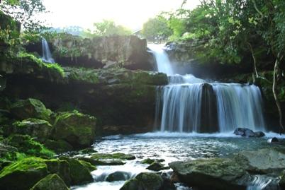 雨16二段の滝