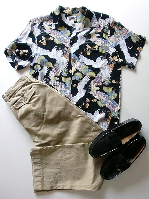 aloha shirt 50s hi