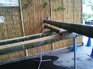 140607そうめん流しの竹