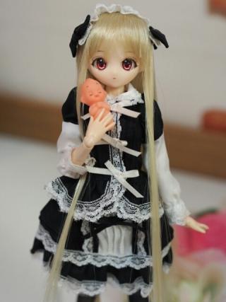 こちらのプチ姫ちゃんも完成品として販売中!(QPさんは別売り)